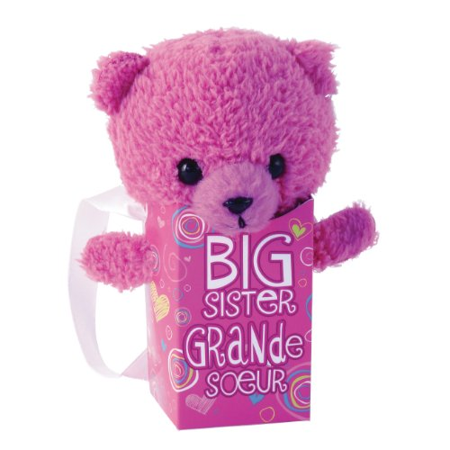 "Gund Pookie Pockets Big Sister 4.25"" Plush"