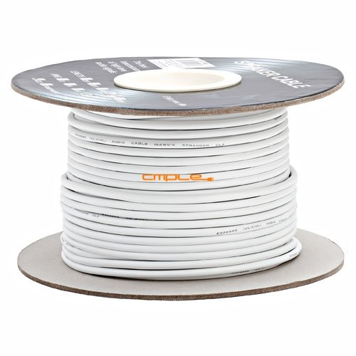 18Awg Cl2 Rated 2 Conductor Loud Speaker Cable 250Ft For In-Wall Installation