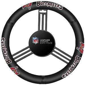 Fremont Die Tampa Bay Buccaneers Steering Wheel Cover by Fremont Die