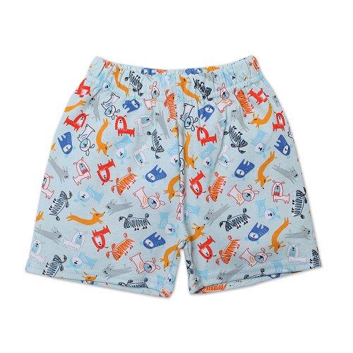 Zutano Baby-boys Infant Dog Walk Shorts, Sky, 6 Months