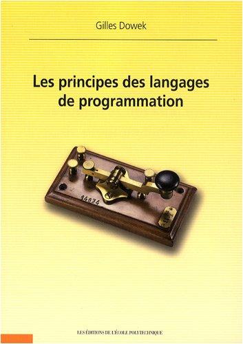 Principes des langages de programmation