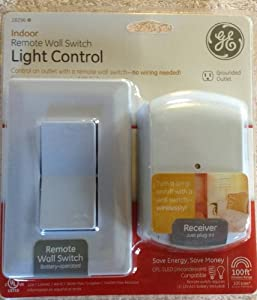 ge wireless indoor remote wall switch light control 18296 electrical outlet switches. Black Bedroom Furniture Sets. Home Design Ideas
