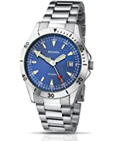Sekonda Stainless Steel Blue Dial Gents Watch with date display