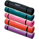 Movit� Pilates Yogamatte Gymnastikmatte, St�rke 1,5 cm, L�nge 190 cm, Breitenauswahl: 100 und 60 cm, 9 Farben