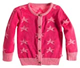 Noppies Baby - Mädchen Weste 45162-G Cardigan knit long Afke, Gr. 86 (11/2 Y), Pink (Pink)