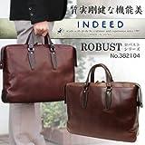 va-382104_ind ブリーフケース こだわりの国産INDEED(インディード) 382104 ロバストシリーズ レザー ビジネスバッグ メンズ 軽量バッグ