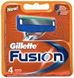 Gillette Fusion Blades - 4 Pack