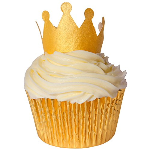 12-x-sugar-free-natural-colours-cake-decorations-gold-crown-wafer-toppers