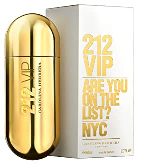 212 VIP By Carolina Herrera Eau De Parfum Spray for Women, 2.70-Ounce