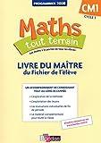 Maths tout terrain CM1  Livre du maître associé au fichier de l'élève (édition 2012)