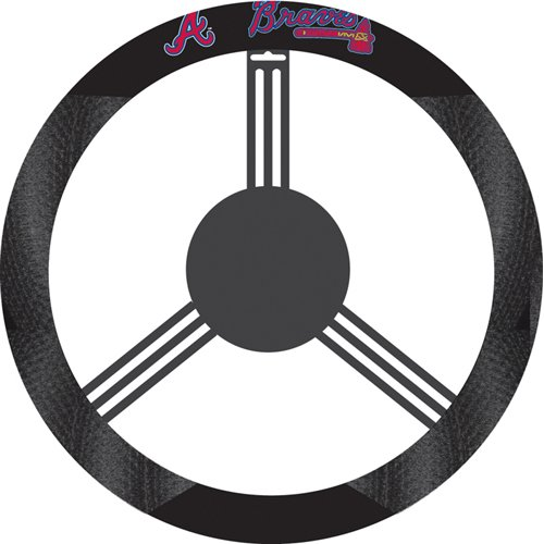 USA Wholesaler - BSI-68515 - Atlanta Braves MLB Poly-Suede Steering Wheel Cover at Amazon.com