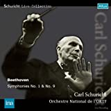 ベートーヴェン: 交響曲第1番ハ長調Op.21、第9番ニ短調「合唱付き」Op.125 (Schuricht Live Collection - Beethoven : Symphonies No.1 & No.9 / Carl Schuricht, Orchetre National de l'ORTF) (2CD)