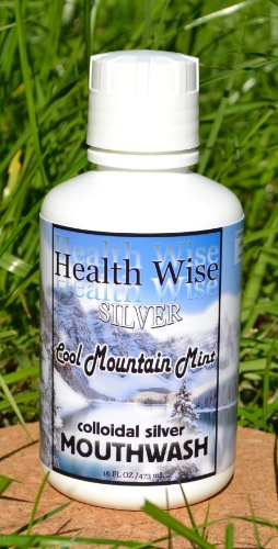 16 Oz. Colloidal Silver Mouthwash