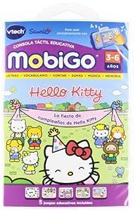 Amazon.com: Vtech Juego MobiGo Hello Kitty - En Espanol