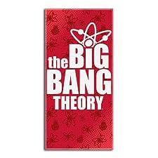 Big Bang Theory Big Logo Beach Towels (28in x 58in)