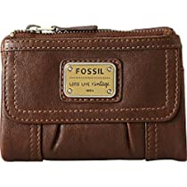 Fossil Emory Multifunction Wallet, Espresso, One Size