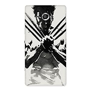 Impressive Ready Wolf Shade Back Case Cover for Sony Xperia SP