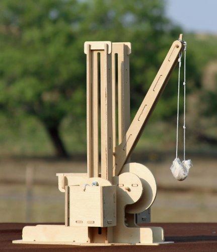 how to build a golf ball trebuchet