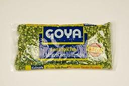 Goya Green Split Peas 14 oz - Arvejas Partidas Verdes
