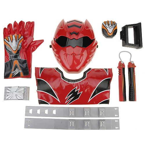 Power Rangers Jungle Fury Costume Set - Red Tiger Ranger Ultimate Action Gear with Mask  sc 1 st  Power Ranger Samurai Costumes & 4 Best Price Power Rangers Jungle Fury Costume Set - Red Tiger ...