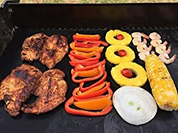 """BBQ Grill Mat Baking Mat FDA Approved Premium Quality Best Non-Stick Grill Mat 15.75x13"""" Set of 2 - Great Gift Ideas Best BBQ Accessories from Backyard Chef Bake and Grill Master from Enso Market"""