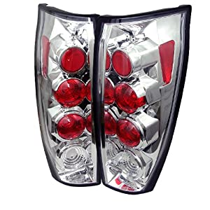 Spyder Auto Chevy Avalanche Chrome Altezza Tail Light