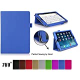 iPad Air/ iPad 5 Case Cover, Fyy® Classic Slim Fit Folio Leather Case for Apple iPad 5 Blue (With Auto Wake/Sleep Feature)