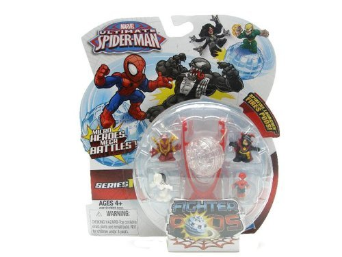 Marvel Ultimate Spiderman Micro Heroes Mega Battles Fighter Pods Series 1 - 1