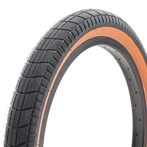 Cult Dehart BMX Tire Black/Orange 20.x2.35