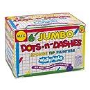 ALEX Toys Artist Studio 6 Dots and Dashes Sponge Tip Painters