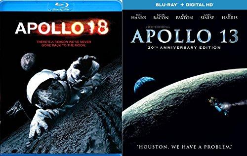 Apollo 13 & Apollo 18 2 Pack Blu Ray Sci-Fi Set Lunar Missions