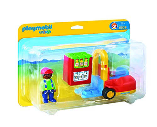 PLAYMOBIL Forklift Set Building Kit