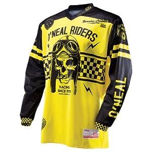 O'Neal Ultra Lite Limited Edition '70 Jersey (Black/Yellow, Medium)