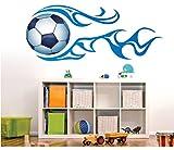 秋田美子 人気 ボーイズルームのインテリアサッカー PVC素材 はがせるウォールステッカー 壁紙 シール 壁飾り6028