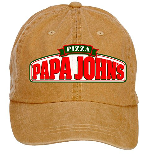 nusajj-papa-johns-pizza-logo-adult-unstructured-100-cotton-sports-hats-design-brown-one-size