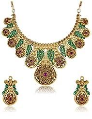 Shining Diva Stunning Festive Necklace Set