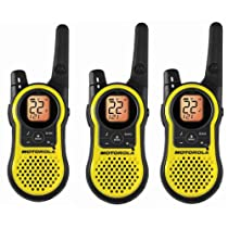 Motorola MH230TPR Rechargeable Two Way Radio 3 Pack, FRS/GMRS