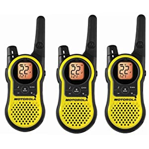 Motorola Mh230tpr Giant Rechargeable Two Way Radio 3 Pack FRS/gmrs
