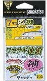 がまかつ(Gamakatsu) ワカサギ連鎖 袖タイプ 7本 W182 2-0.2