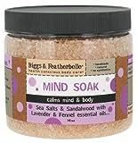 Biggs & Featherbelle - Mind Soak Sea Salts & Sandalwood with Lavender & Fennel Essential Oils - 16 oz.