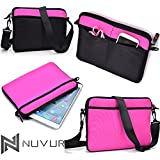 "9 Inch Cover Case Bag In Pink Amazon Kindle Fire Hd 8.9"" Nu Vur Nd09 Scm1"