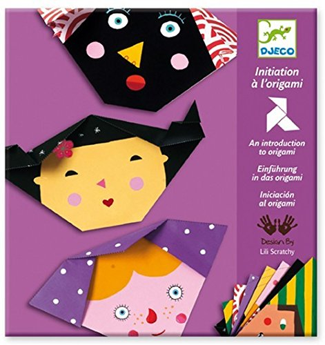 Djeco / Introduction to Origami, Faces