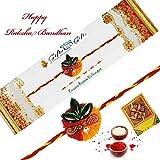 Rajlaxmi Designer Handmade Moli Single Rakhi