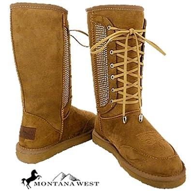 Amazon.com: Western Style Winter Boots Montana West Micro