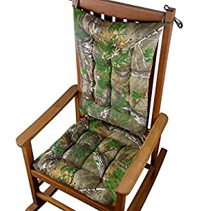 Realtree Xtra Green R Camo Rocking Chair