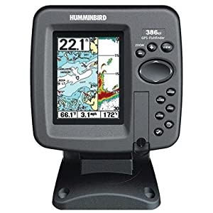 Humminbird 4090301 386Ci Combo Color DualBeam Fishfinder and GPS by Humminbird