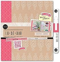 La De Dah Boho - Agenda creativa (incluye bolígrafo), color rosa