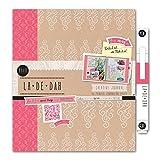 La De Dah Boho Journal and Glue Pen, Pink