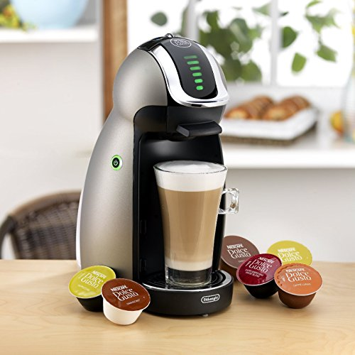 De Longhi NESCAFe Dolce Gusto Genio Single Serve Coffee Maker and Espresso Machine - 21oz ...