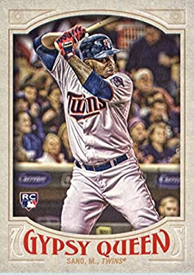 2016 Topps Gypsy Queen #16 Miguel Sano Minnesota Twins Baseball Rookie Card